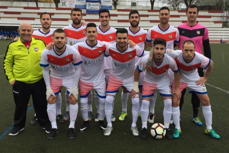 Once inicial del Morón CF ayer